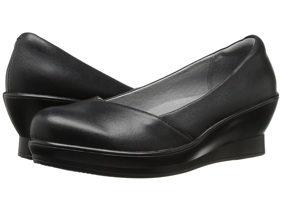 Alegria - Flirt (Black Nappa) Women's Wedge Shoes