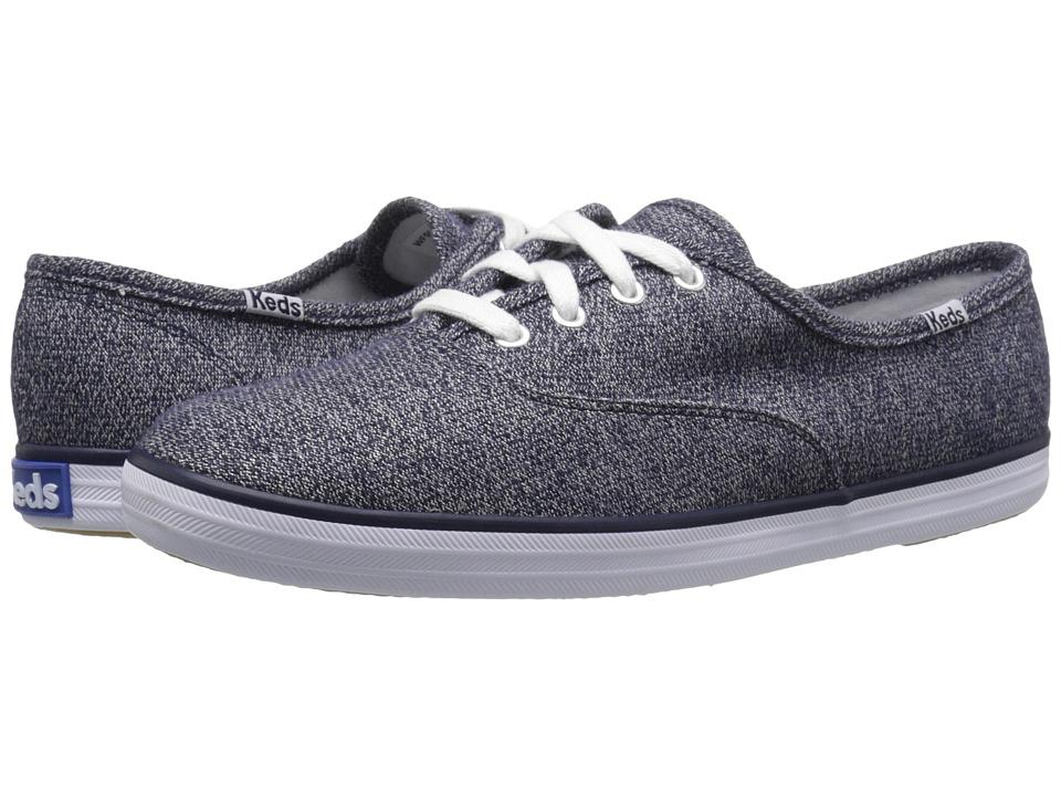 Keds - Champion Sweatshirt Jersey (Navy) Women's Shoes