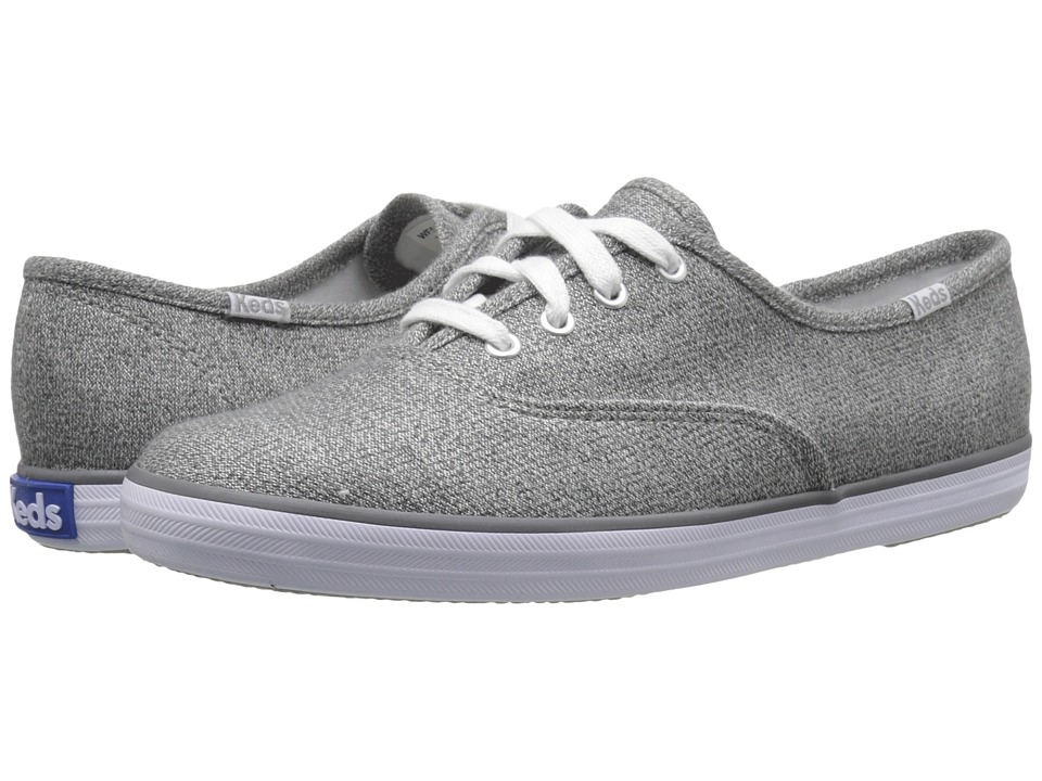 Keds - Champion Sweatshirt Jersey (Grey) Women's Shoes
