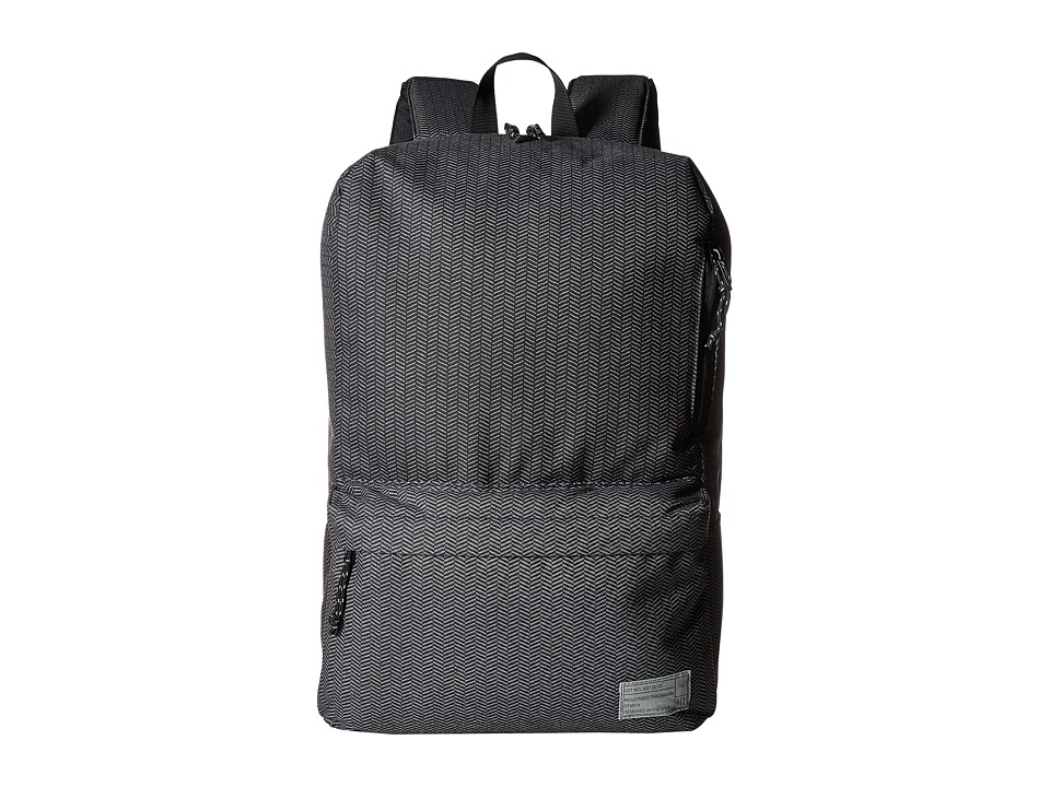 HEX - Exile Backpack (Grey/Herringbone 2) Backpack Bags