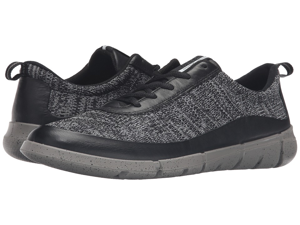 ECCO Sport - Intrinsic Knit (Black/Concrete) Men's Shoes