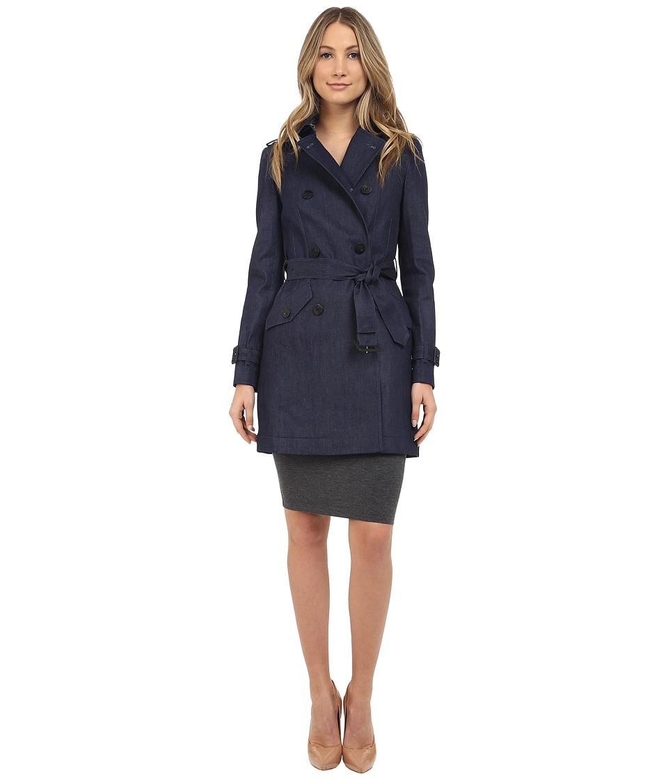 Diane von Furstenberg - Grace (Indigo) Women's Coat