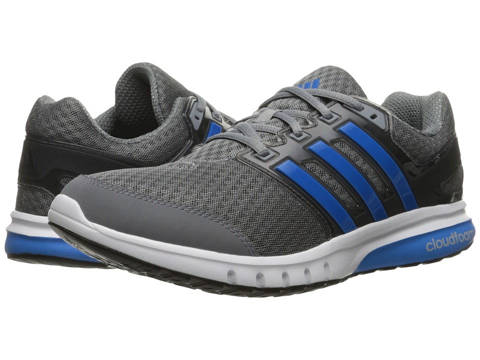 adidas - Galaxy 2 Elite (Grey/Shock Blue/Granite) Men's Running Shoes