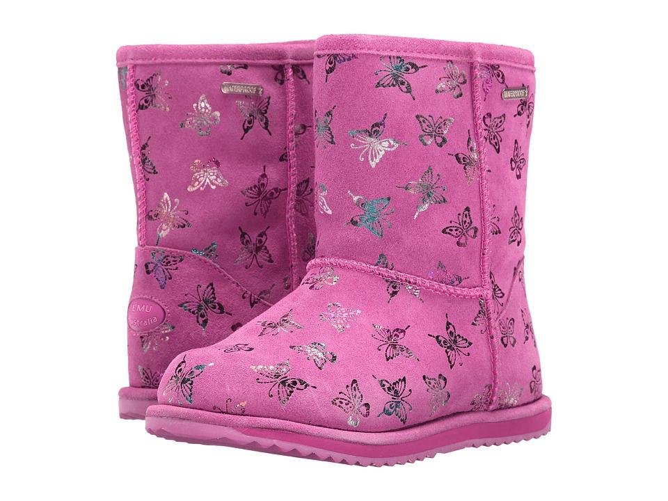 EMU Australia Kids - Flutter Brumby (Toddler/Little Kid/Big Kid) (Hot Pink) Girls Shoes