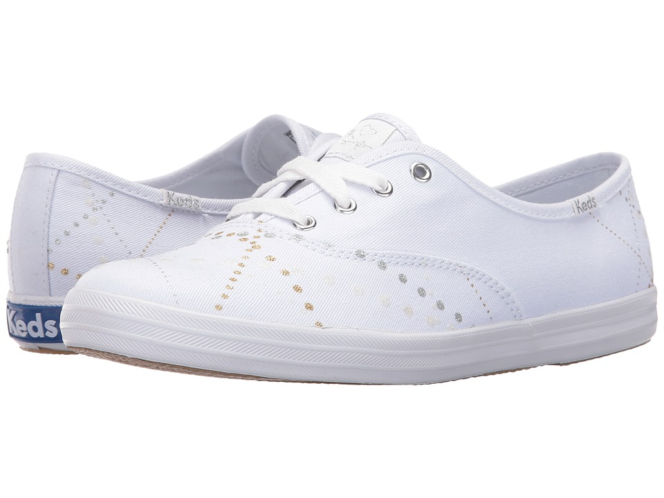 Keds - Taylor Swift Champion Lazer Lights (White) Women's Shoes