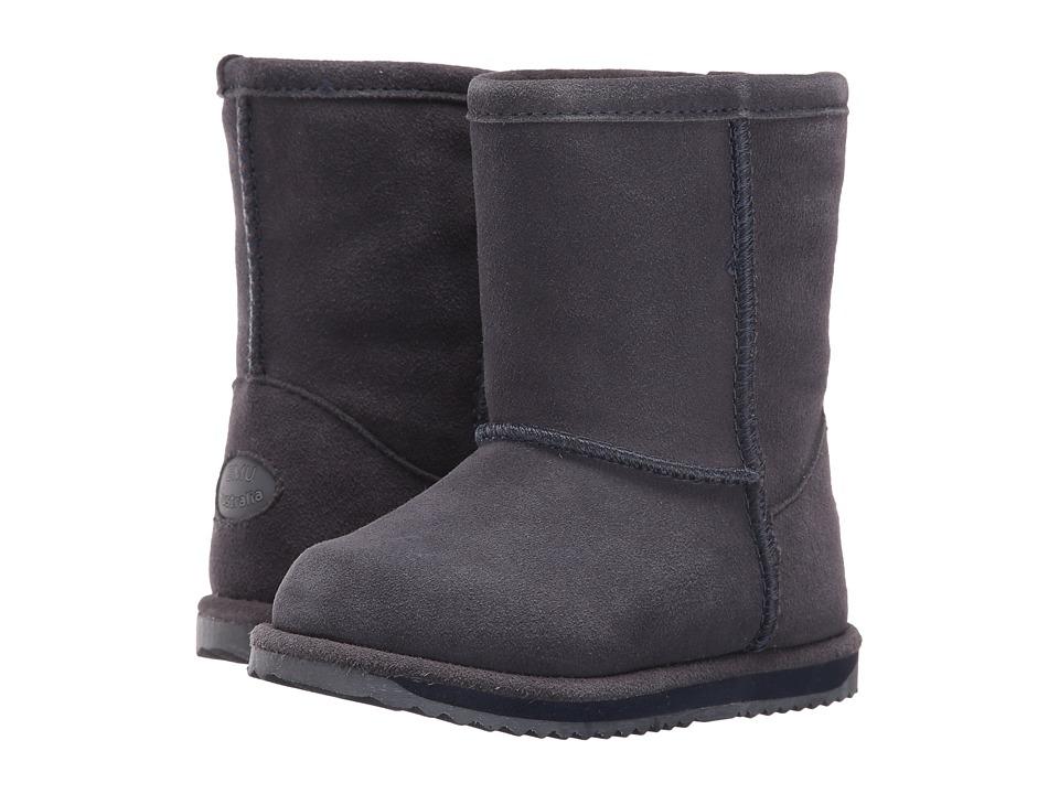 EMU Australia Kids - Brumby Lo Waterproof (Toddler/Little Kid/Big Kid) (Indigo) Kids Shoes