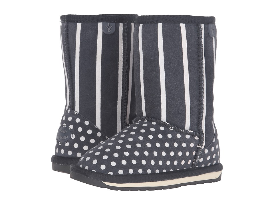 EMU Australia Kids - Dotty (Toddler/Little Kid/Big Kid) (Indigo) Girls Shoes