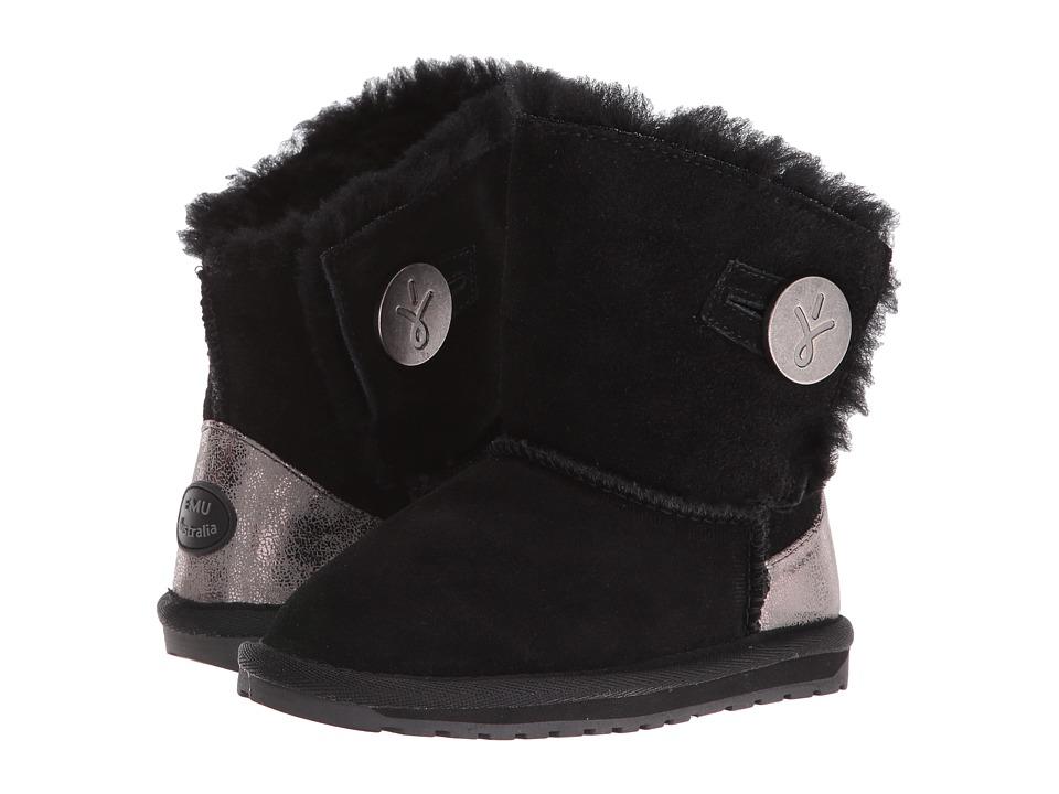 EMU Australia Kids - Denman (Toddler/Little Kid/Big Kid) (Black) Girls Shoes