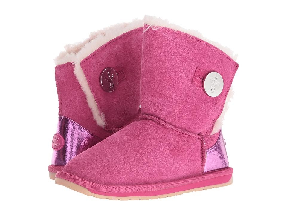 EMU Australia Kids - Denman (Toddler/Little Kid/Big Kid) (Hot Pink) Girls Shoes