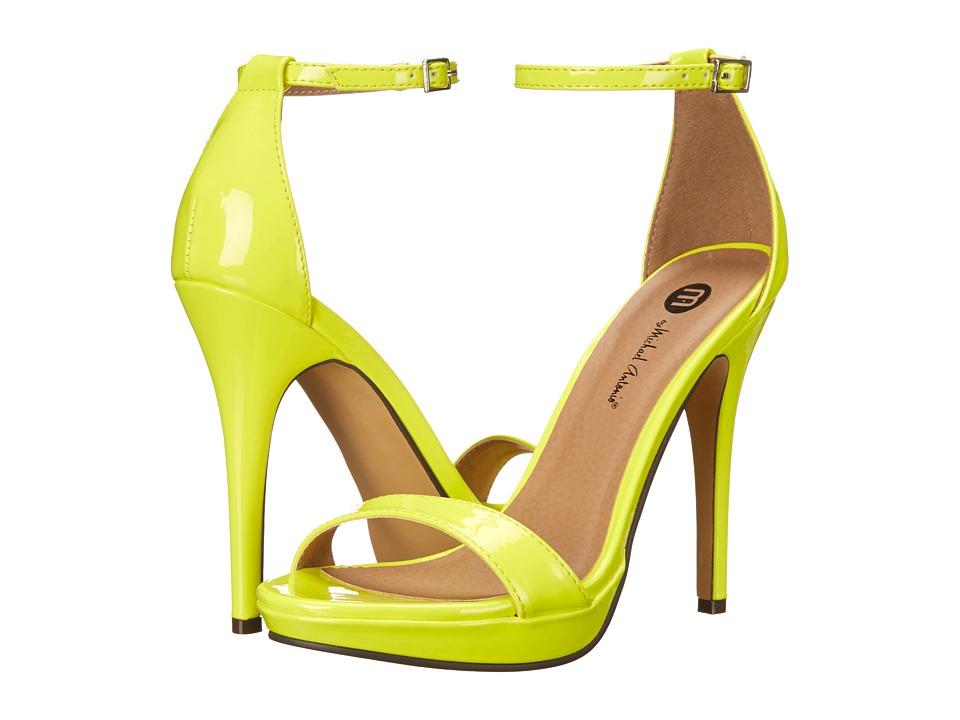 Michael Antonio - Lovina Patent (Lime 1) High Heels