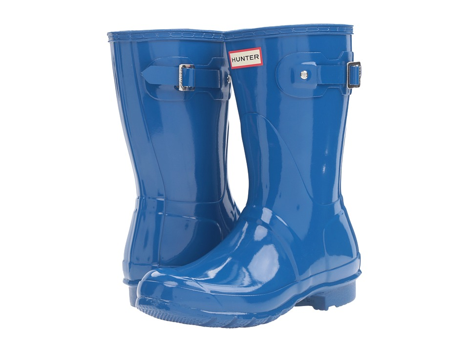 Hunter - Original Short Gloss (Azure) Women's Rain Boots