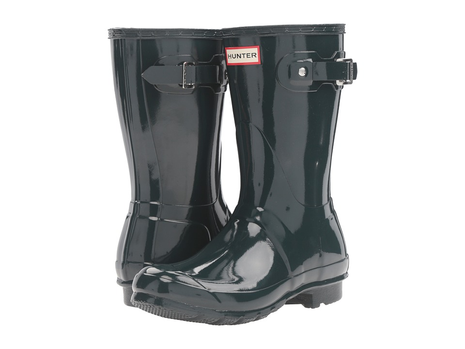 Hunter - Original Short Gloss (Ocean) Women's Rain Boots