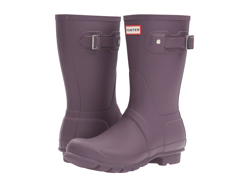 Hunter - Original Short Rain Boots (Purple Urchin) Women's Rain Boots