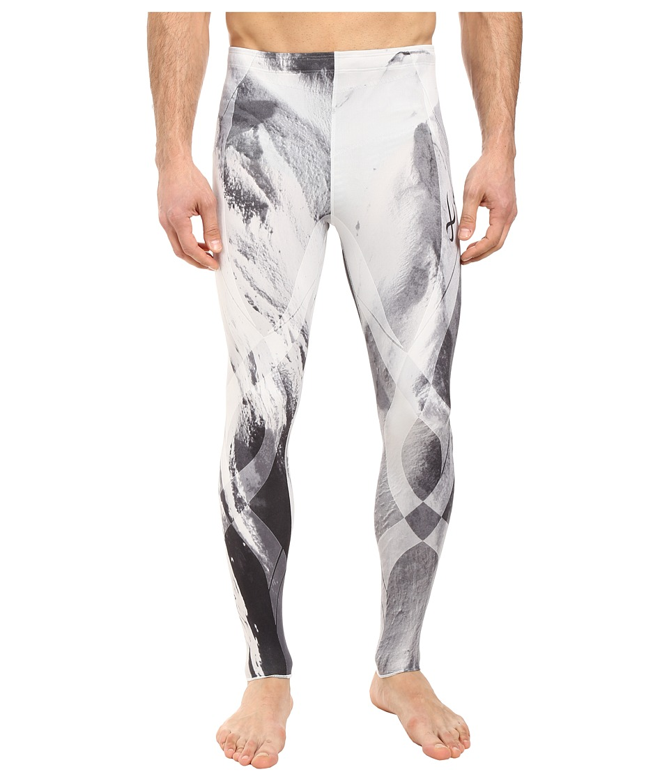 CW-X - Generator Revolution Tights (Mount Fuji Print) Men's Casual Pants