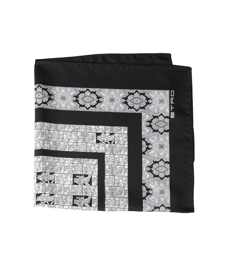 Etro - 1T1994007 (Black) Scarves
