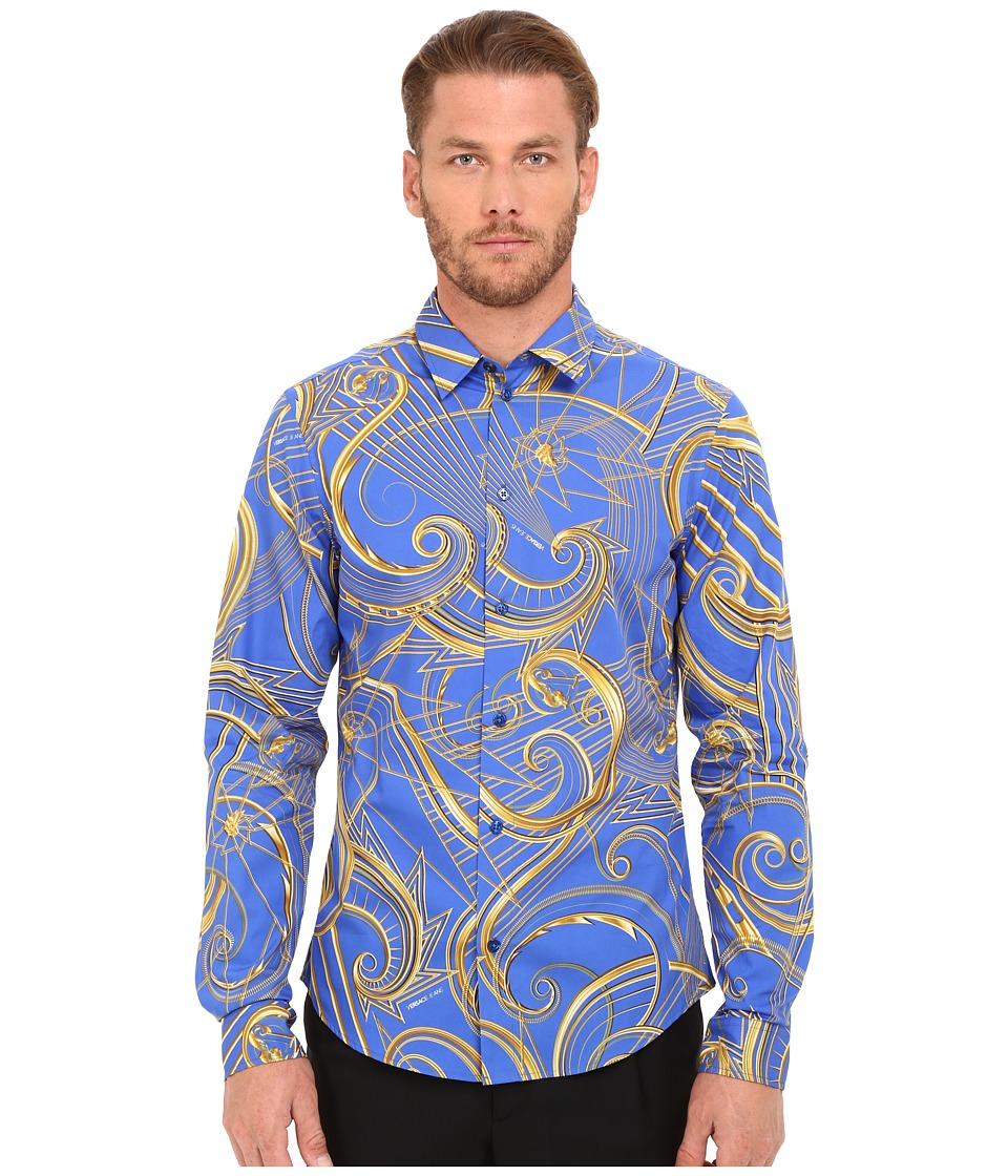 Versace Jeans - EB1GOA6S0 (Cobalt) Men's Clothing