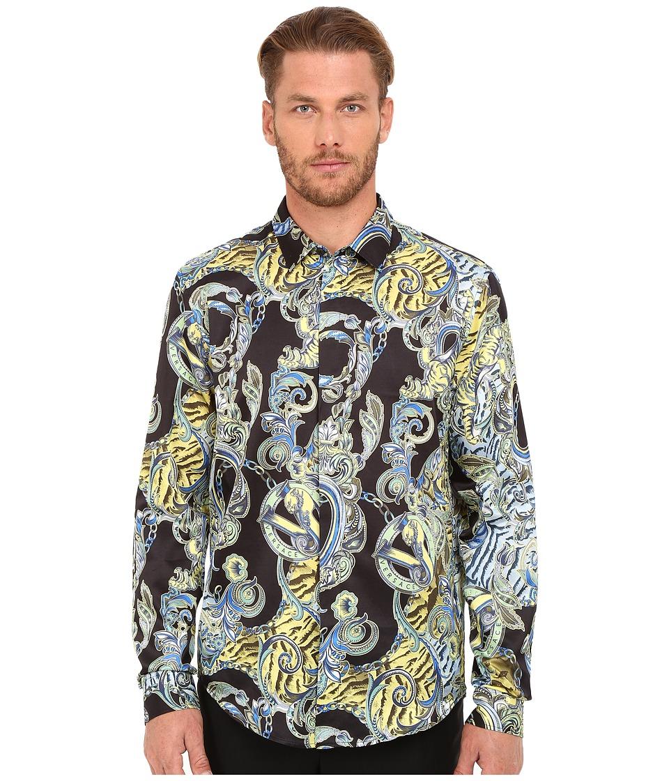 Versace Jeans - EB1GOA6R6 (Black) Men's Clothing