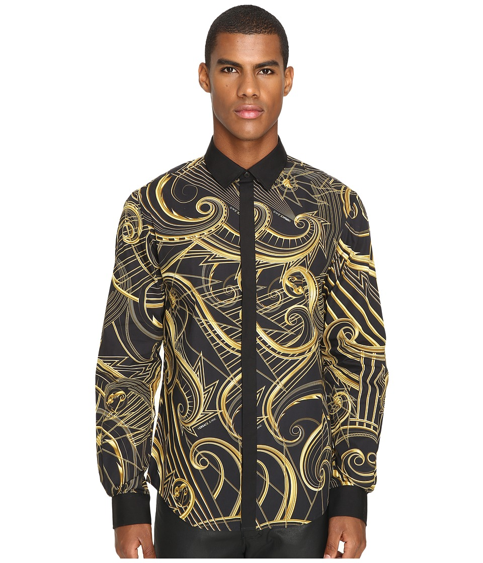Versace Jeans - EB1GOA6R5 (Black) Men's Clothing