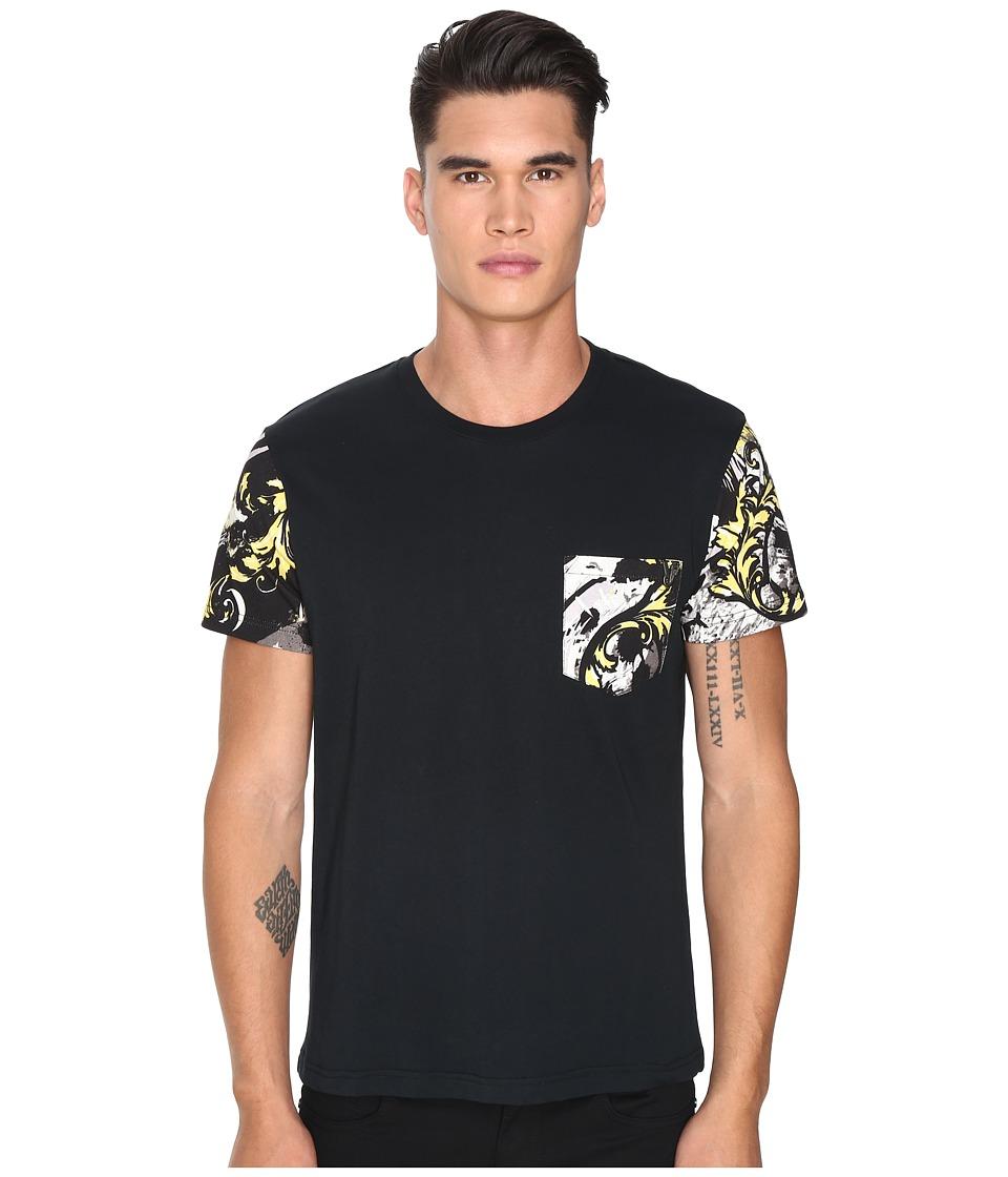 Versace Jeans - EB3GOA7S4 (Black) Men's T Shirt