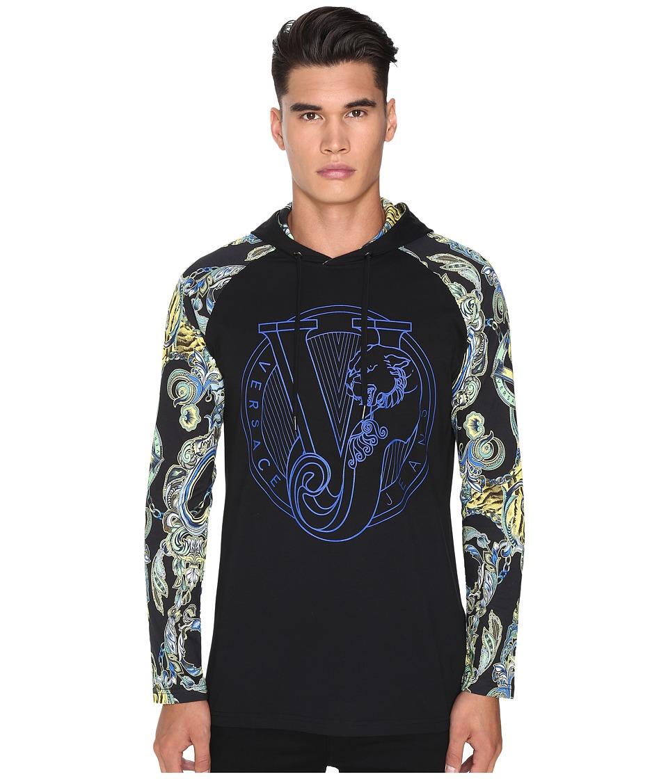 Versace Jeans - EB3GOA7BZ (Black) Men's Sweatshirt