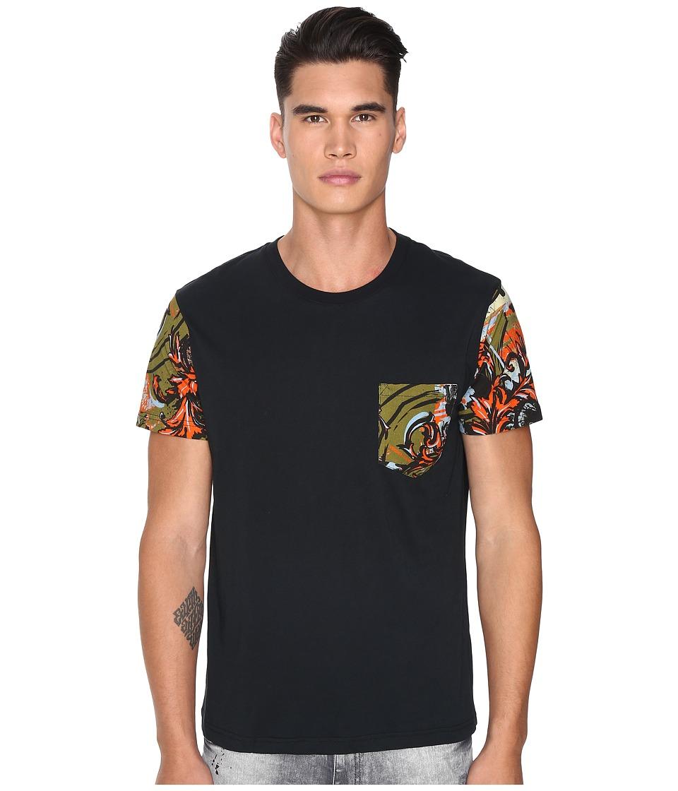 Versace Jeans - EB3GOA7S4 (Kaki) Men's T Shirt