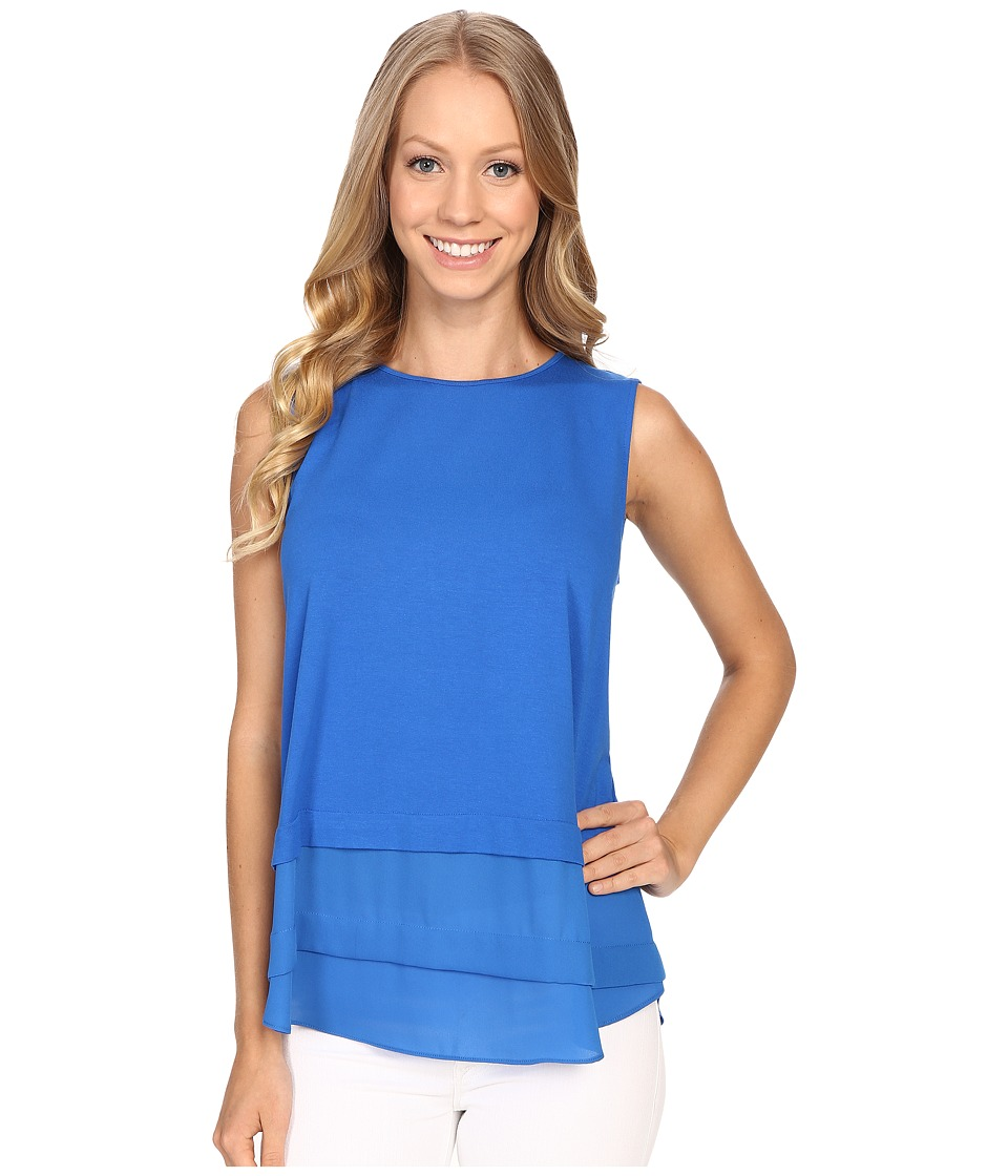 Vince Camuto - Sleeveless Layered Top (Poolside) Women's Sleeveless