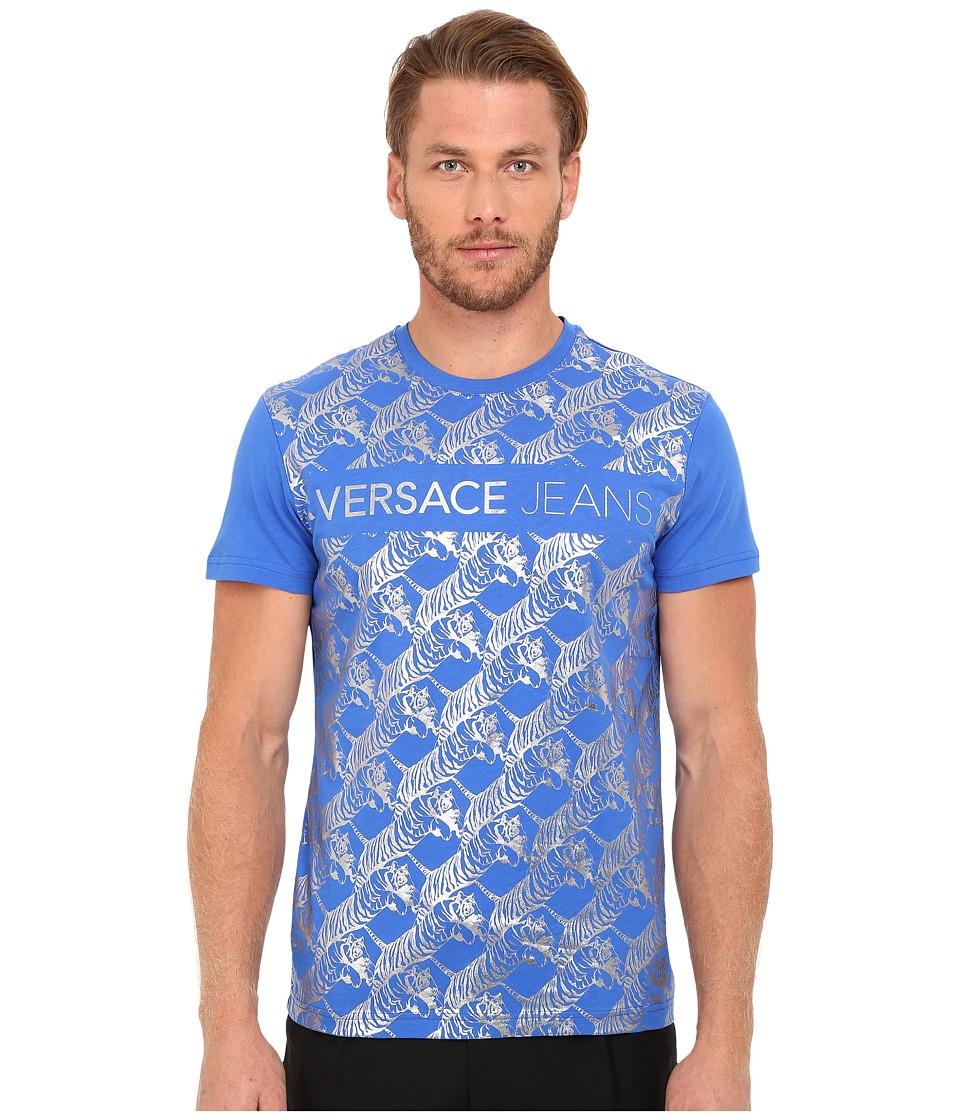Versace Jeans - EB3GOA724 (Cobalt) Men's T Shirt
