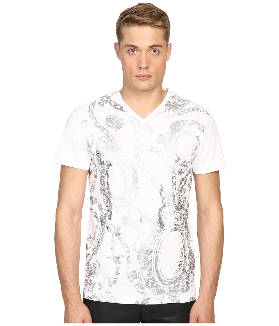 Versace Jeans - EB3GOA712 (White) Men's T Shirt