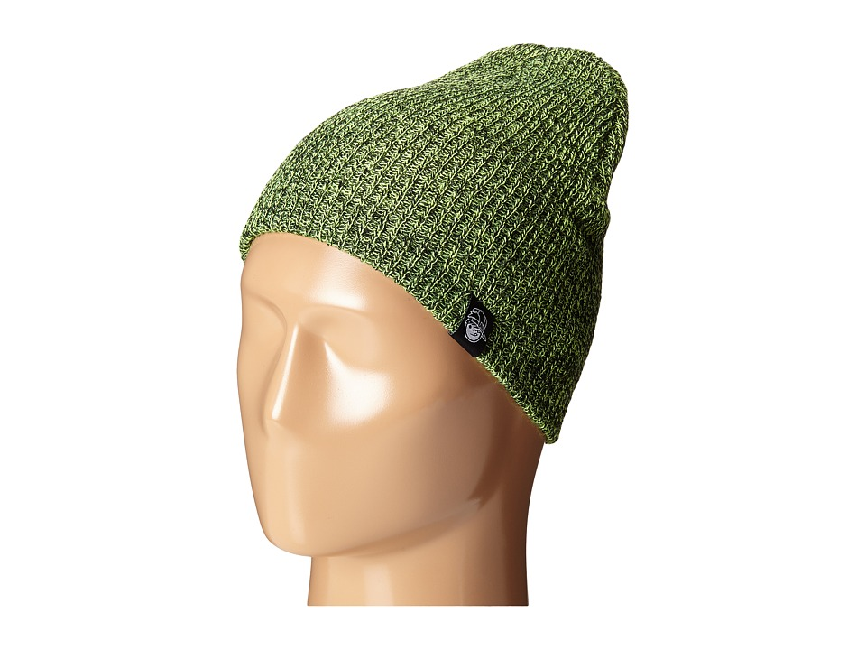 Neff - Daily Heather Beanie (Youth) (Lime/Black) Beanies