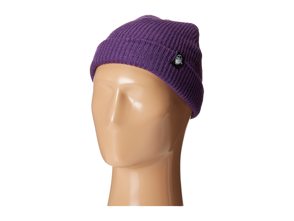 Neff - Fold Beanie (Youth) (Purple) Beanies