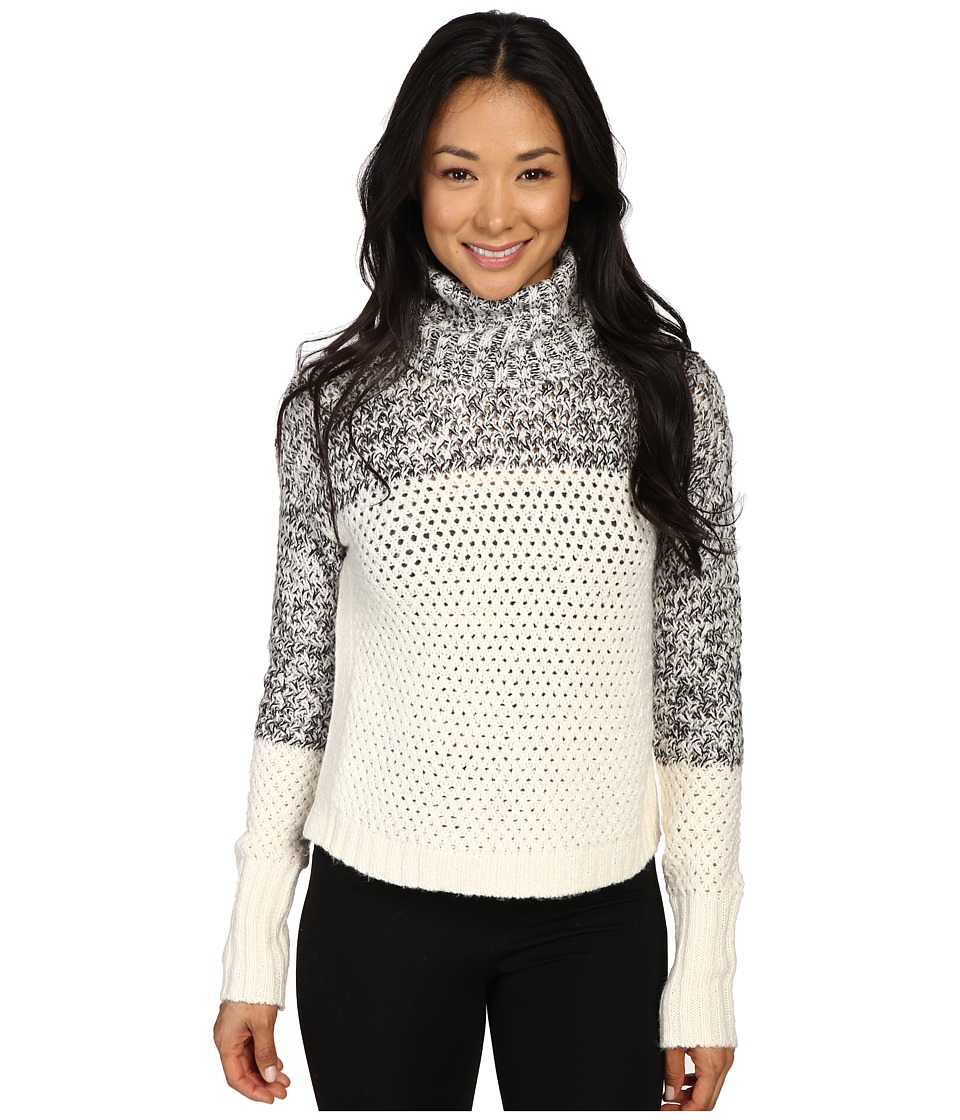 Calvin Klein Jeans - 3GG Chunky Cozy Turtleneck (Black) Women's Sweater