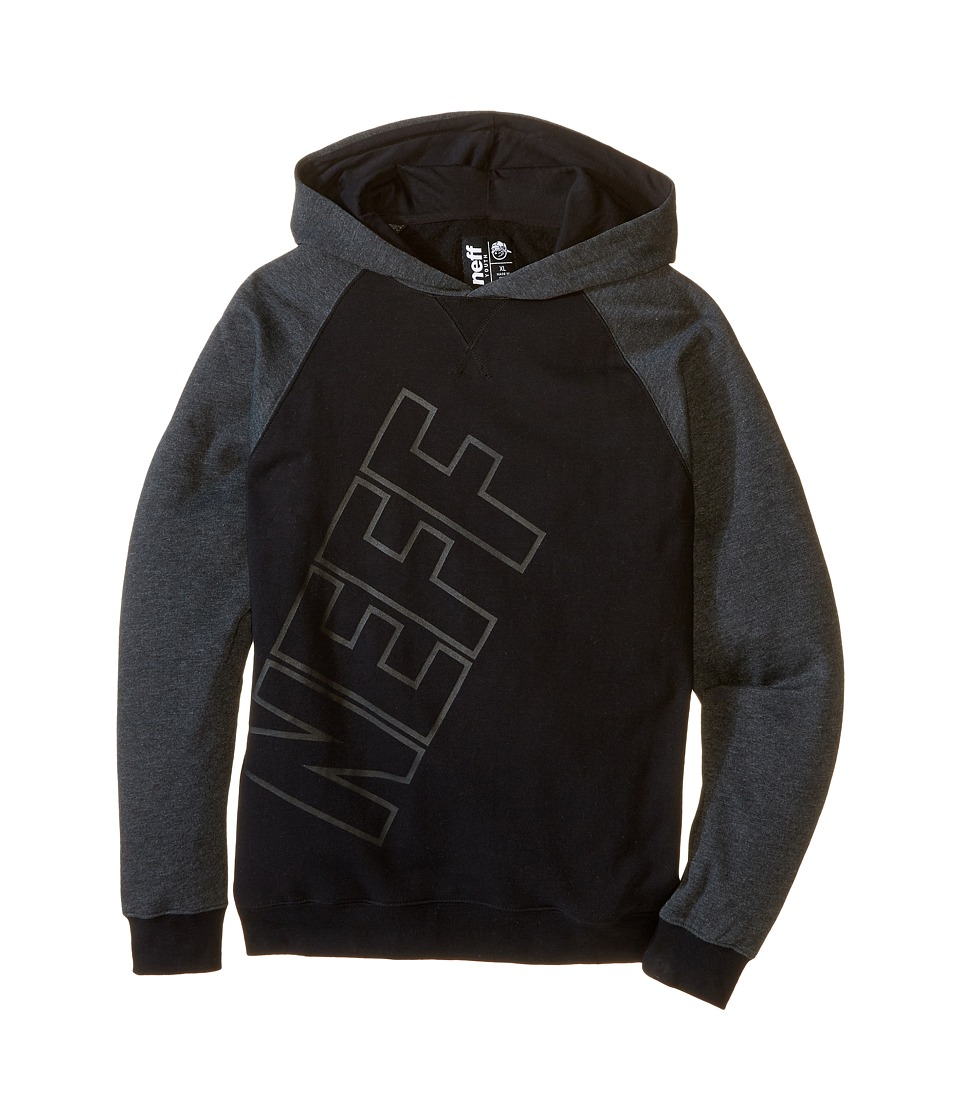 Neff Kids - Corpo Hoodie (Big Kids) (Black) Boy's Sweatshirt
