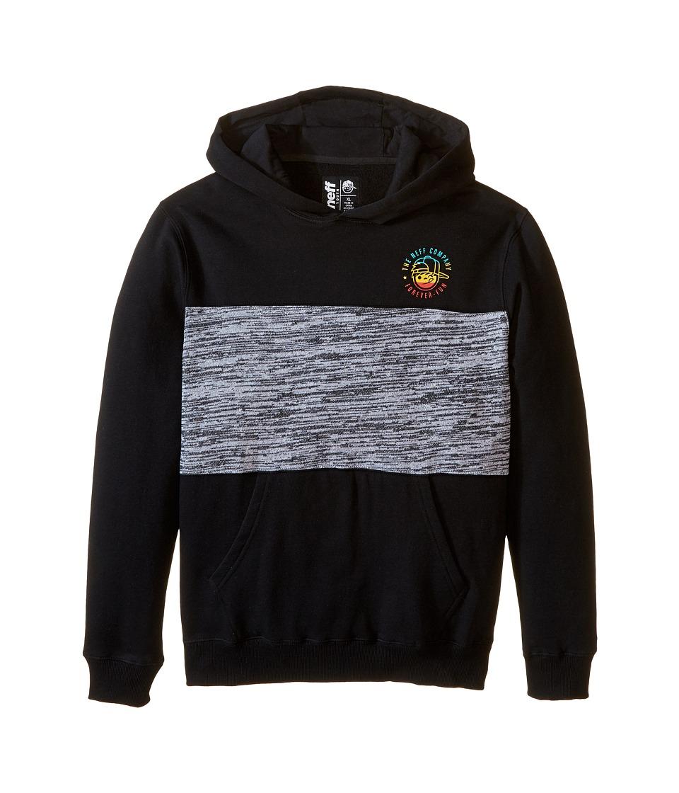 Neff Kids - Company Hoodie (Big Kids) (Black) Boy's Sweatshirt