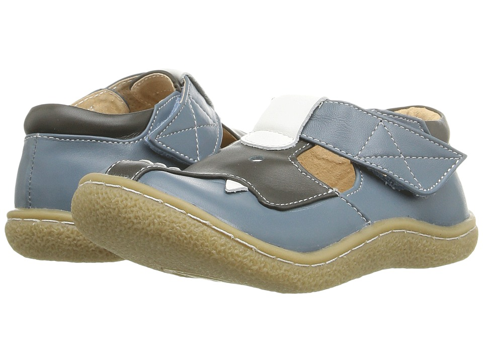 Livie & Luca - Elephant (Infant/Toddler) (Jean Blue) Boy's Shoes