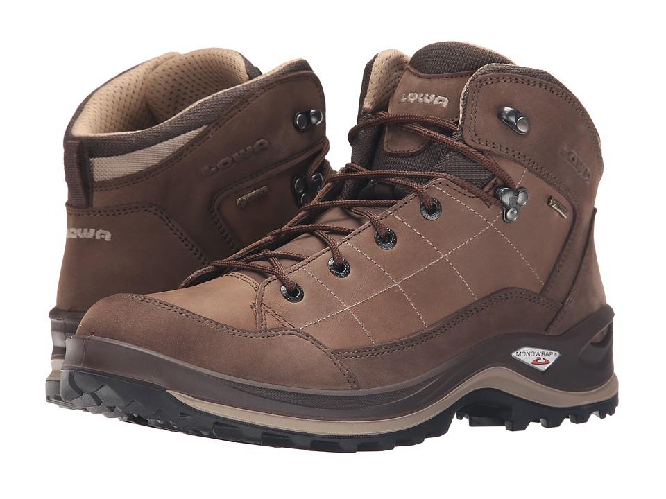 Lowa - Bormio GTX QC (Brown/Sand) Men's Shoes