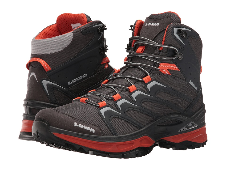 Lowa - Innox Mid (Graphite/Orange) Men's Shoes