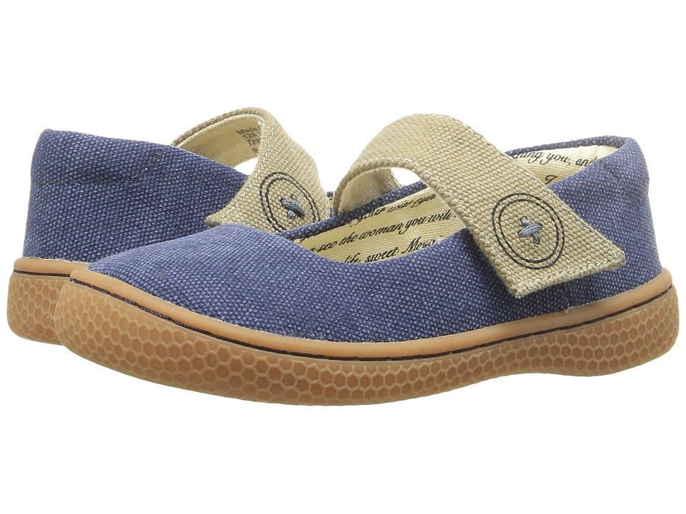 Livie & Luca - Carta II (Toddler/Little Kid) (Denim Blue) Girl's Shoes
