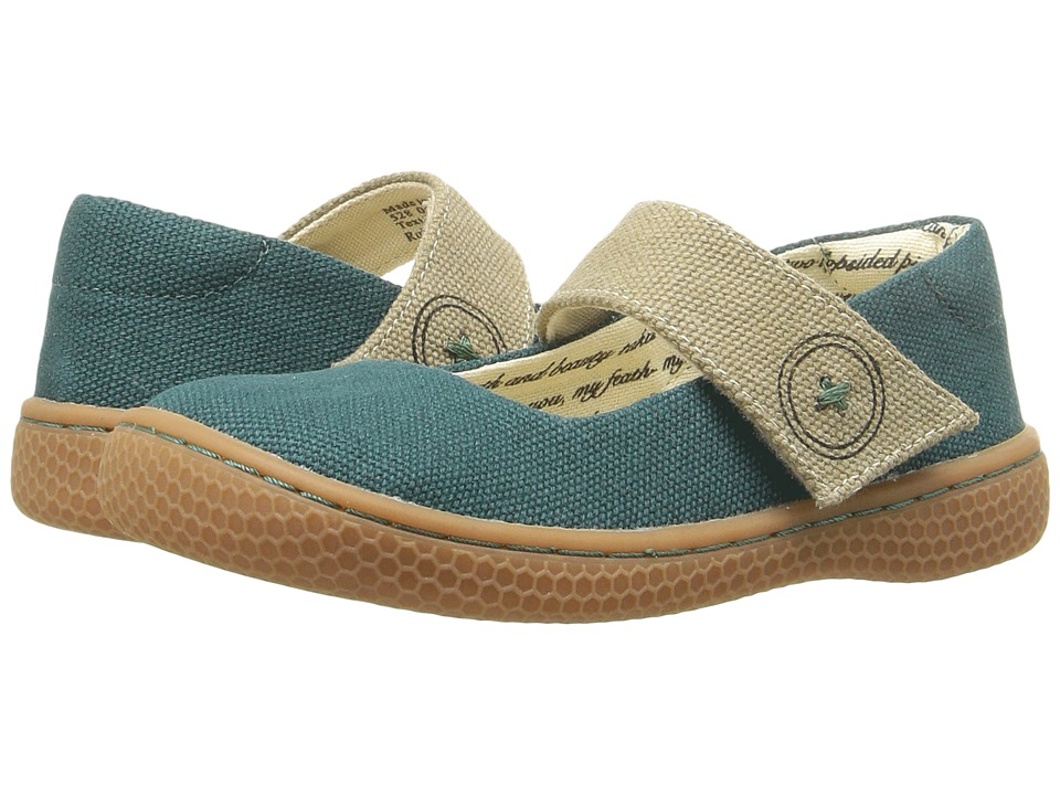 Livie & Luca - Carta II (Toddler/Little Kid) (Forest Green) Girl's Shoes