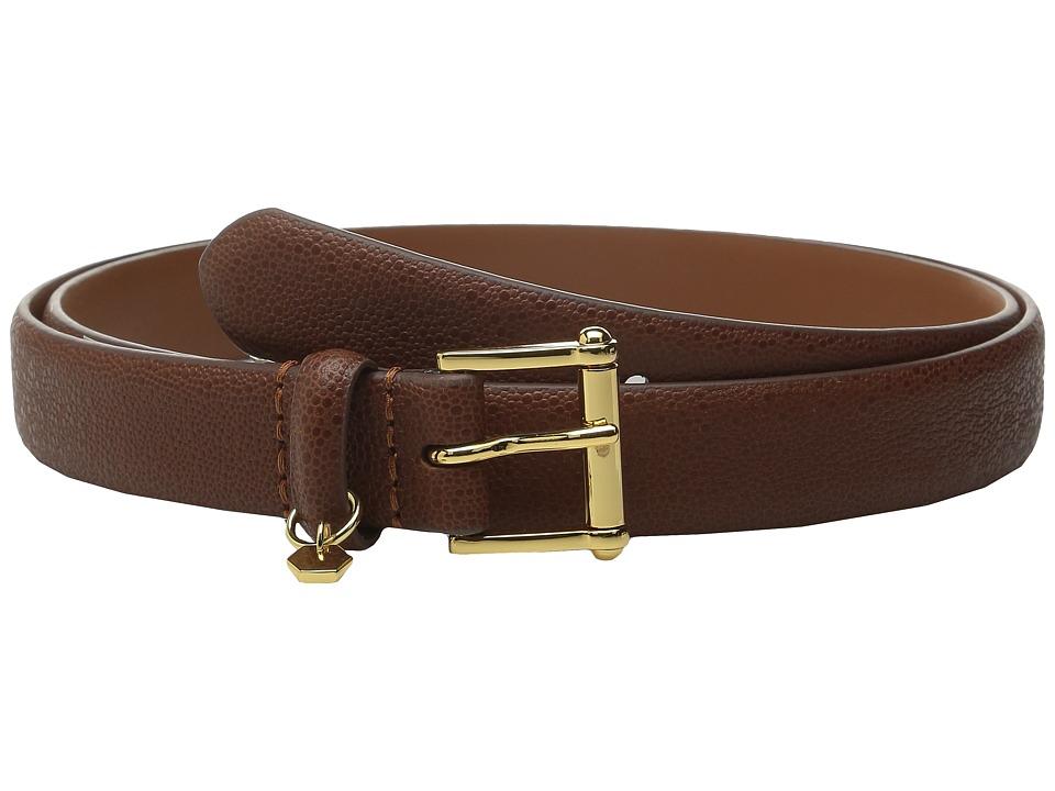 LAUREN Ralph Lauren - 1 Faux Stingray Belt (Bourbon) Women's Belts