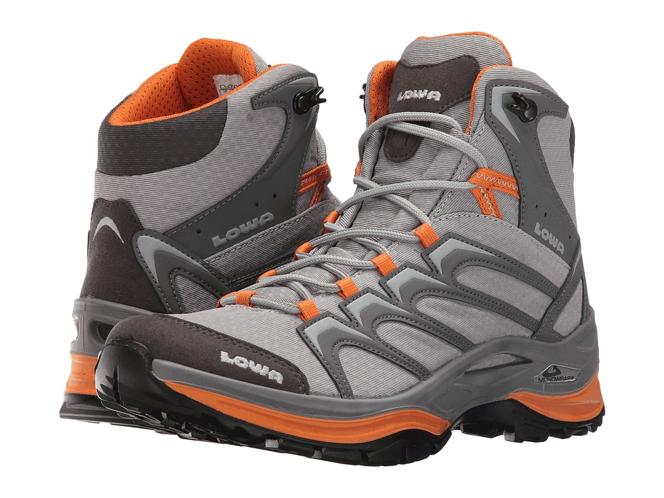 Lowa - Innox Mid (Gray/Mango) Women's Shoes