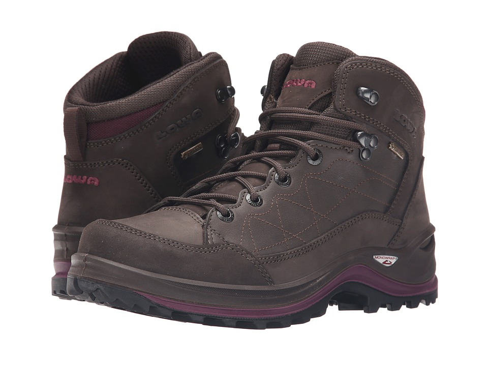 Lowa - Bormio GTX QC (Slate/Violet) Women's Shoes