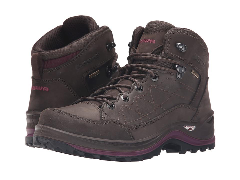 Lowa - Bormio GTX QC (Slate/Violet) Women's Shoes