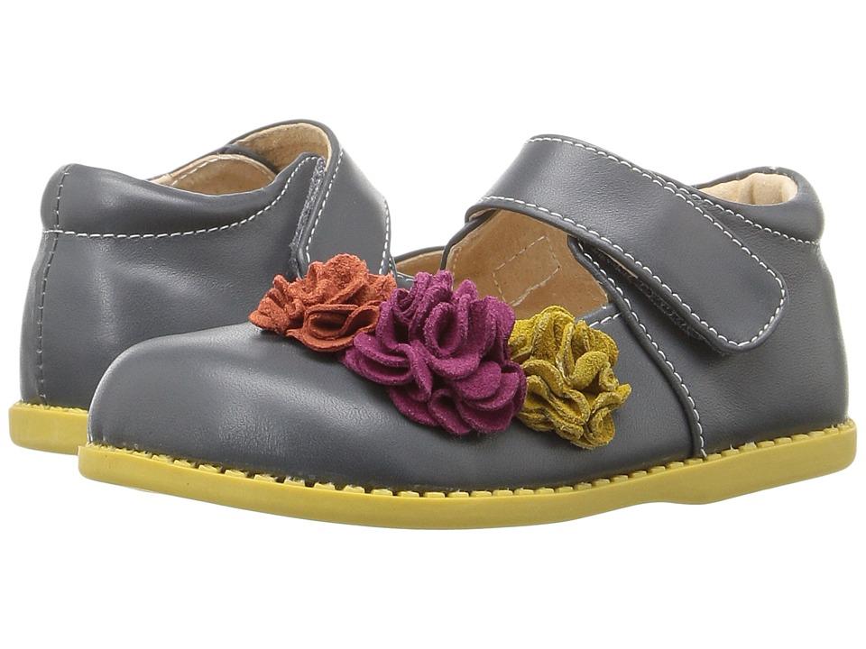 Livie & Luca - Dahlia (Toddler/Little Kid) (Gray) Girl's Shoes