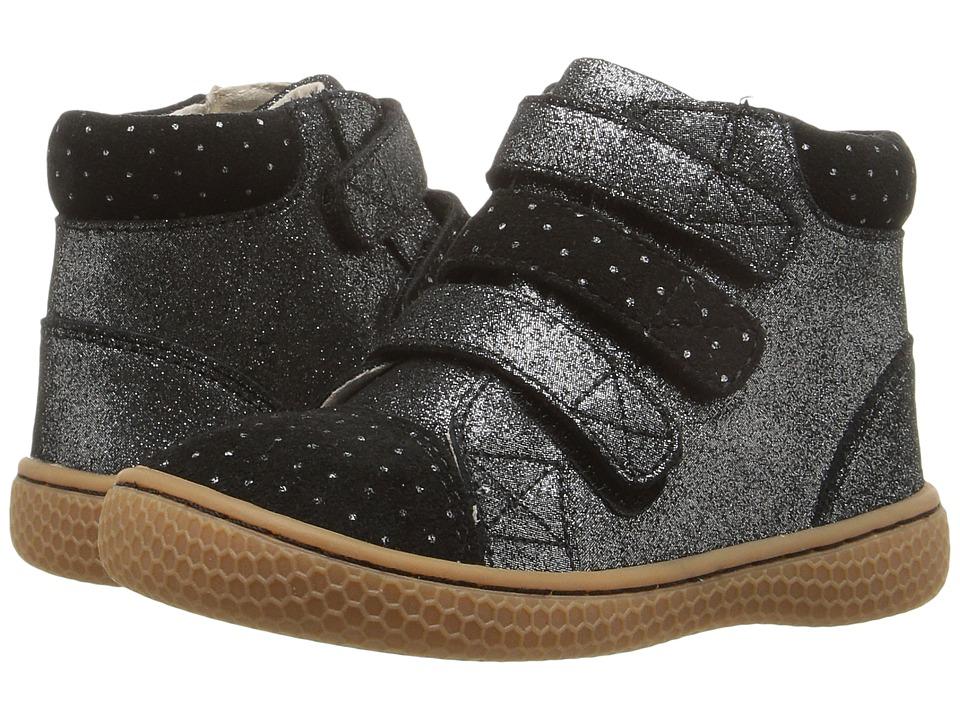 Livie & Luca - Jamie (Toddler/Little Kid) (Black Sparkle) Girl's Shoes