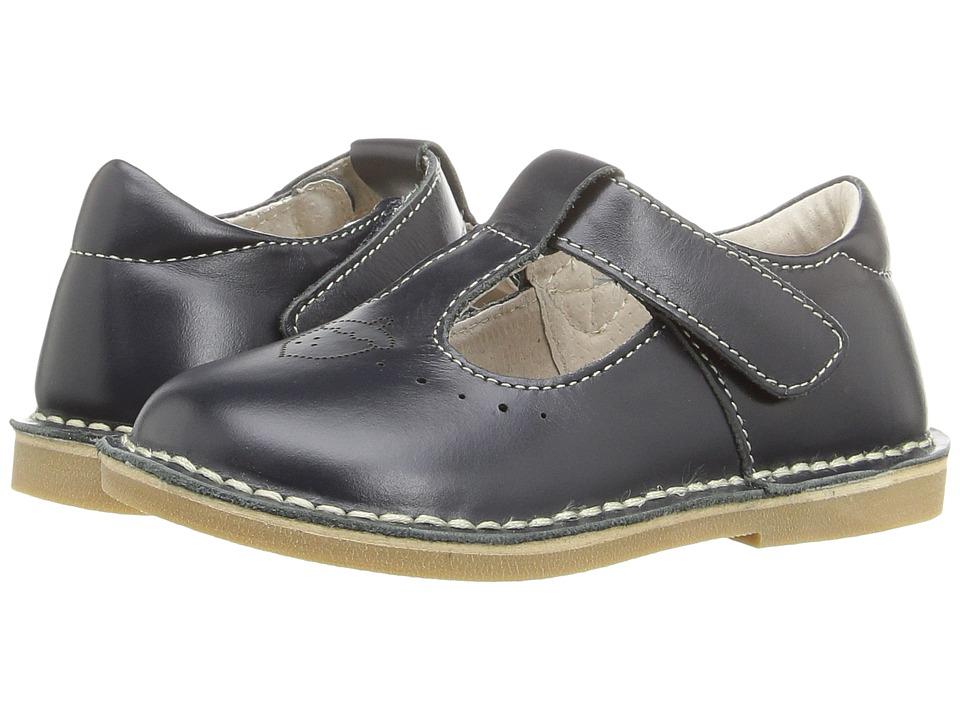 Livie & Luca - Oak (Toddler/Little Kid) (Navy) Girl's Shoes