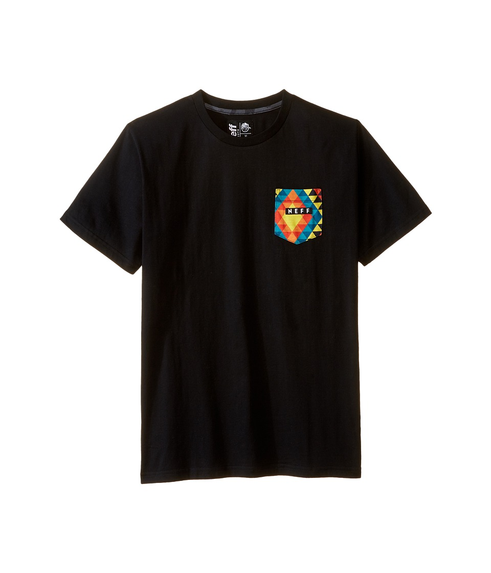 Neff Kids - Kato Tee (Big Kids) (Black) Boy's T Shirt