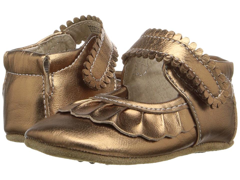 Livie & Luca - Ruche (Infant) (Copper Metallic) Girl's Shoes