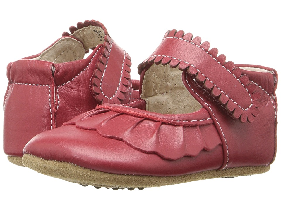 Livie & Luca - Ruche (Infant) (Red) Girl's Shoes
