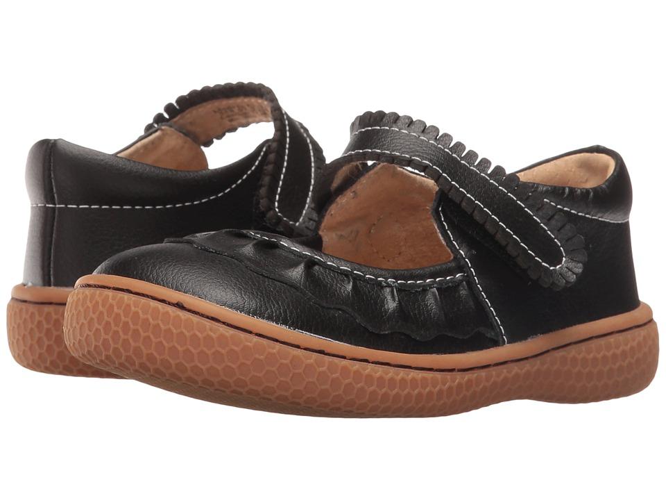 Livie & Luca - Ruche (Infant/Toddler/Little Kid) (Black) Girls Shoes