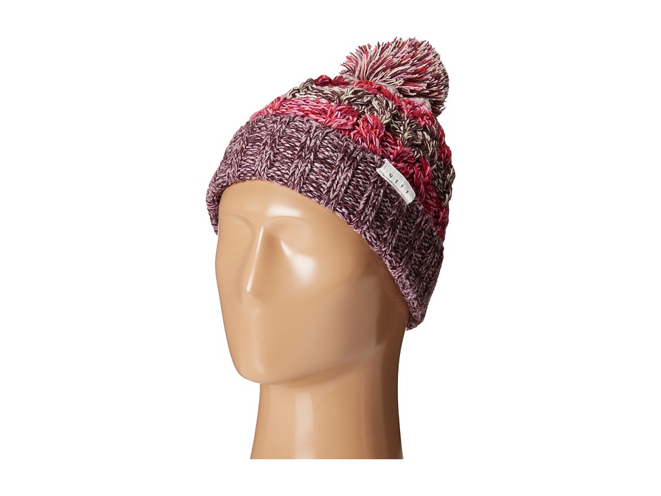 Neff - Kaycee Space Dye Beanie (Pink) Beanies